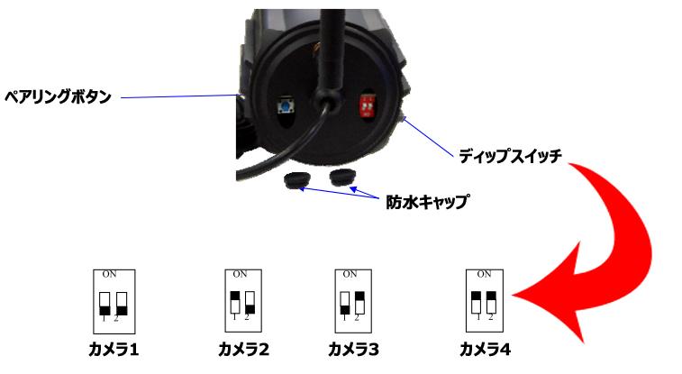 SR004ディップスイッチ